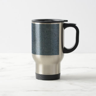 Textured Blue Coffee Mug