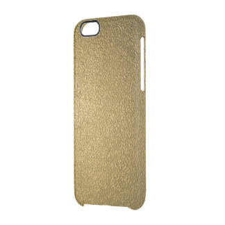 Textured Bronze Clear iPhone 6/6S Case