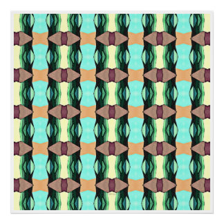 Textured Colorful Pattern Posters