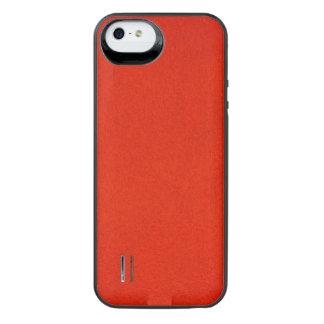 Textured Crimson iPhone SE/5/5s Battery Case
