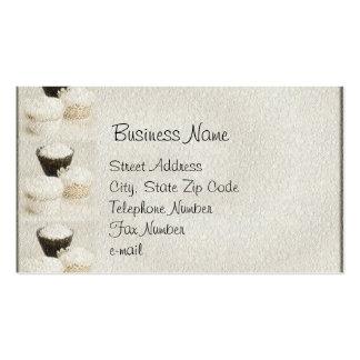 Textured Cupcake Business Cards