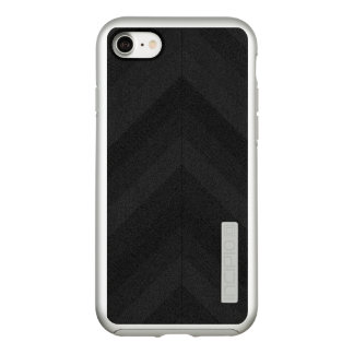 Textured Dark Stripes Incipio DualPro Shine iPhone 8/7 Case