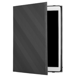 "Textured Dark Stripes iPad Pro 12.9"" Case"