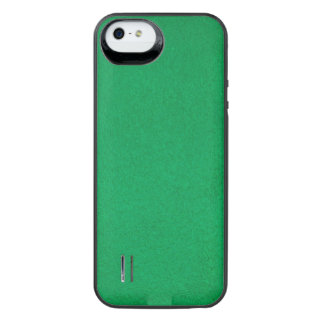 Textured Emerald iPhone SE/5/5s Battery Case