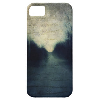 Textured Evening Abstract Barely There iPhone 5 Case