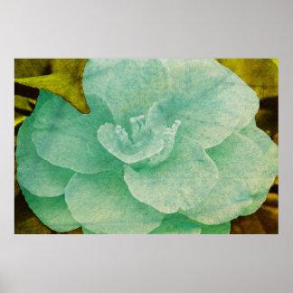 Textured Flower Print