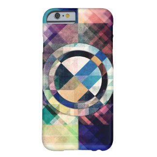 Textured Geometric Shapes Barely There iPhone 6 Case