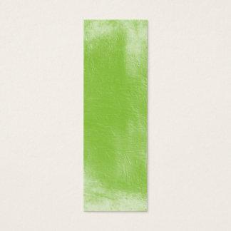 Textured grunge green business card