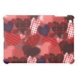 Textured Heart Collage iPad Mini Cases