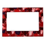Textured Heart Collage Magnetic Picture Frames