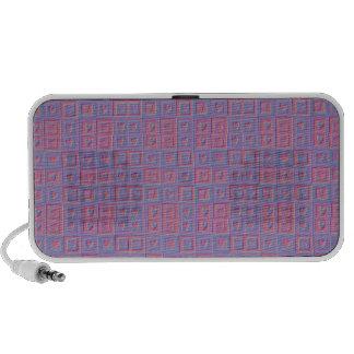 Textured Hearts Pattern iPod Speaker