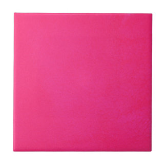 Textured Hot Pink Ceramic Tile