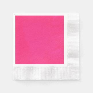 Textured Hot Pink Disposable Serviette