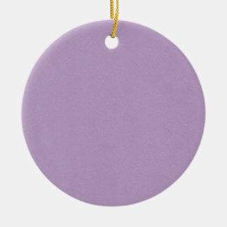 Textured Light Purple Color Ornaments