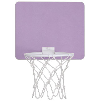 Textured Light Purple Color Mini Basketball Hoop