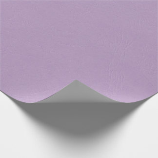 Textured Light Purple Color Wrapping Paper