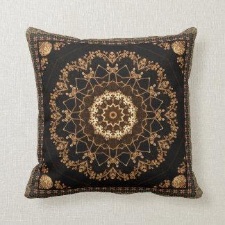Textured Mandala Flower Cushion