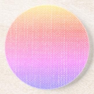 Textured Multi-Color Coaster