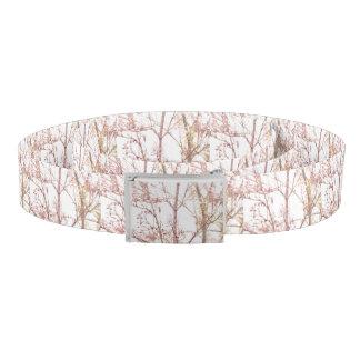 Textured Nature Print Belt