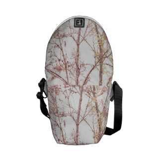 Textured Nature Print Courier Bags