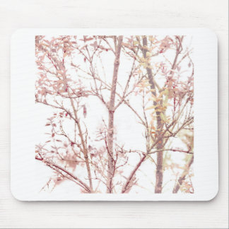 Textured Nature Print Mouse Pad