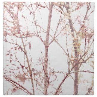 Textured Nature Print Napkin