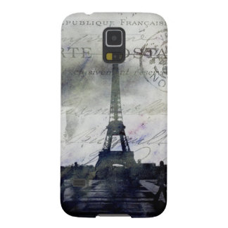 Textured  Paris in Lavender Cases For Galaxy S5
