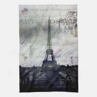 Textured Paris in Lavender Tea Towel