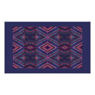 textured pattern poster