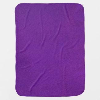 Textured Royal Purple Baby Blanket