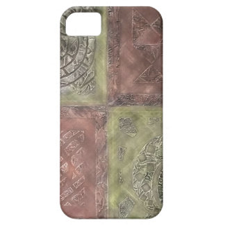 Textured Squares Case For The iPhone 5