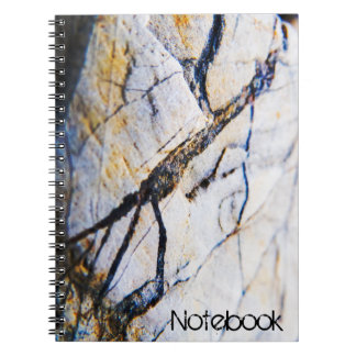 Textured Stone Surface Notebooks