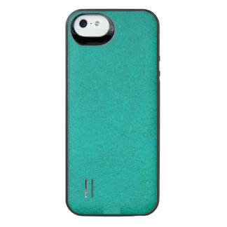 Textured Teal iPhone SE/5/5s Battery Case