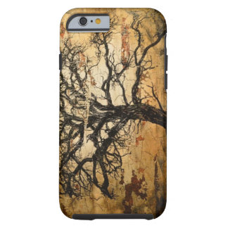 Textured Tree Art for iPhones. Tough iPhone 6 Case