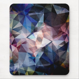 Textured Triangle Abstract Mouse Pad