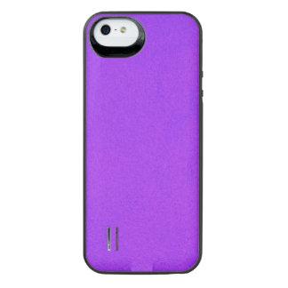 Textured Violet iPhone SE/5/5s Battery Case