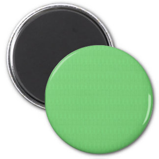 Textures n Shades of Green Blank Template DIY gift 6 Cm Round Magnet