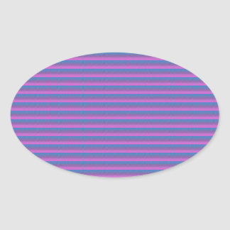 Textures Stripes pattern Template add TEXT PHOTO Oval Stickers