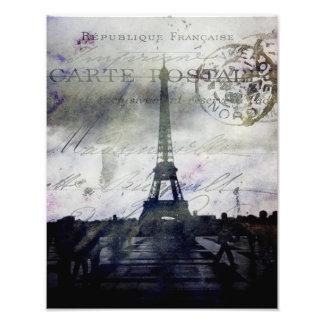 Texured Paris in Lavender Art Photo