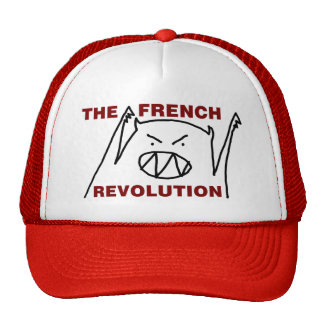 TFR Monster Hat (red/white)