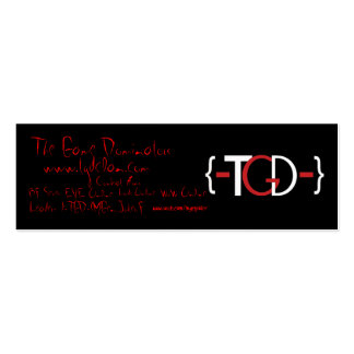 -TGD- Promotional Card Business Card Template