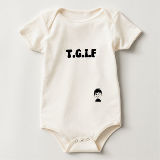 TGIF BOY BABY BODYSUIT
