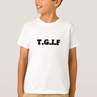 TGIF in BOLD T-Shirt