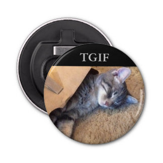 TGIF Magnetic Bottle Opener