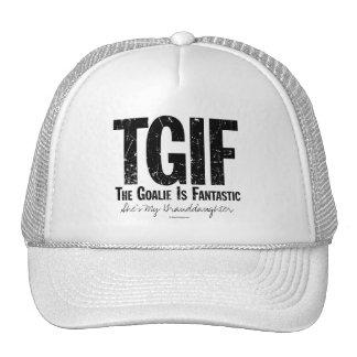 TGIF: The Goalie is Fantastic (Hockey) Cap