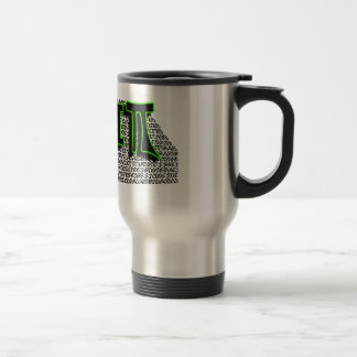 TGIPI - THANK GOD IT'S PI DAY! MARCH 14TH 3.14 TRAVEL MUG