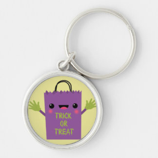 TGrick or Treat Bag.jpg Silver-Colored Round Key Ring