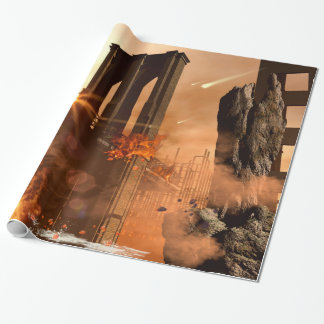 Th apocalypse wrapping paper
