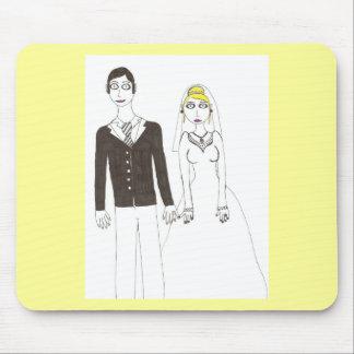Th creepy wedding 2 mouse pad