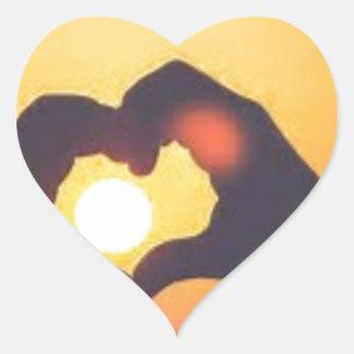 th heart sticker